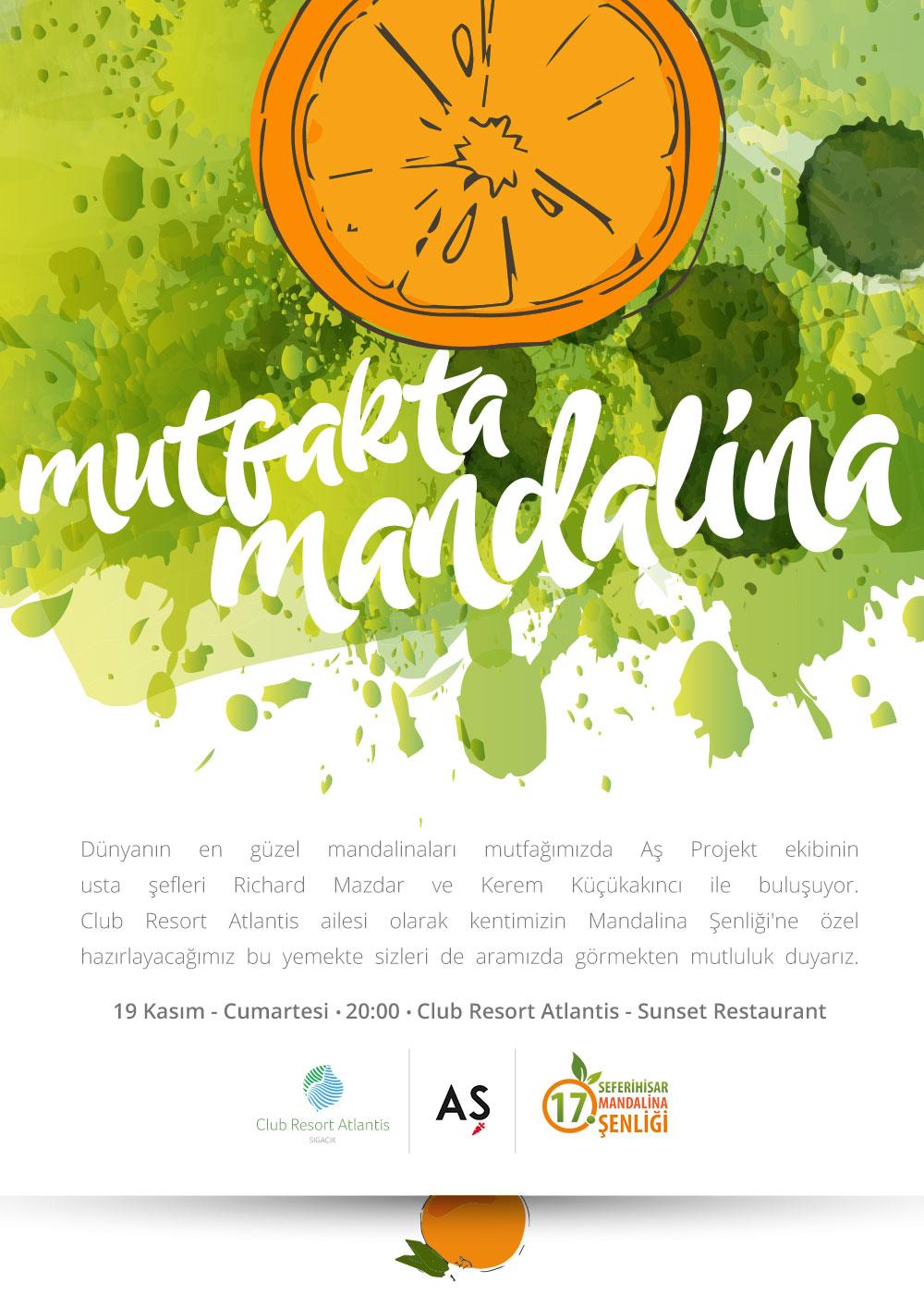 Mutfakta Mandalina