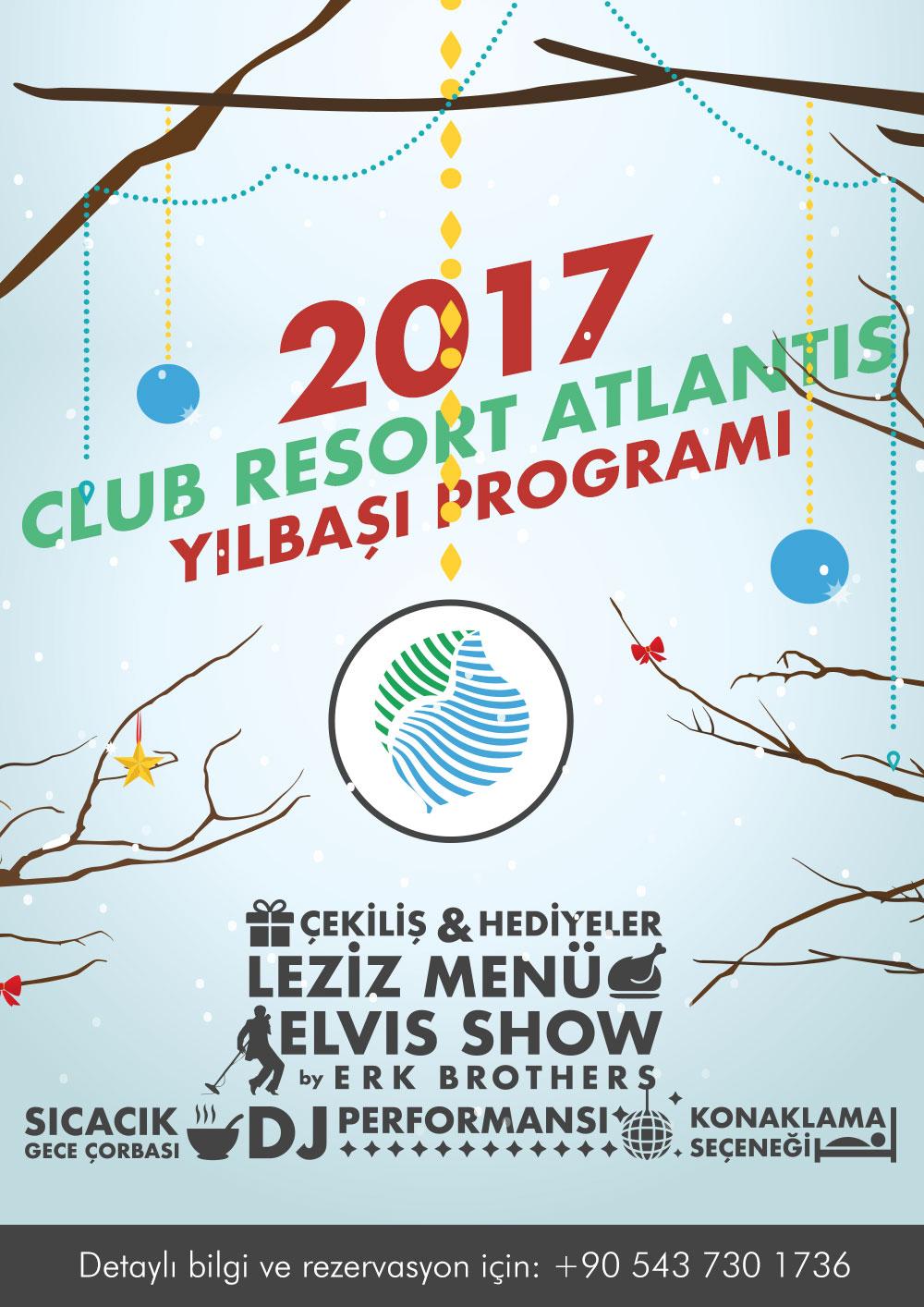 Club Resort Atlantis Yılbaşı Programı